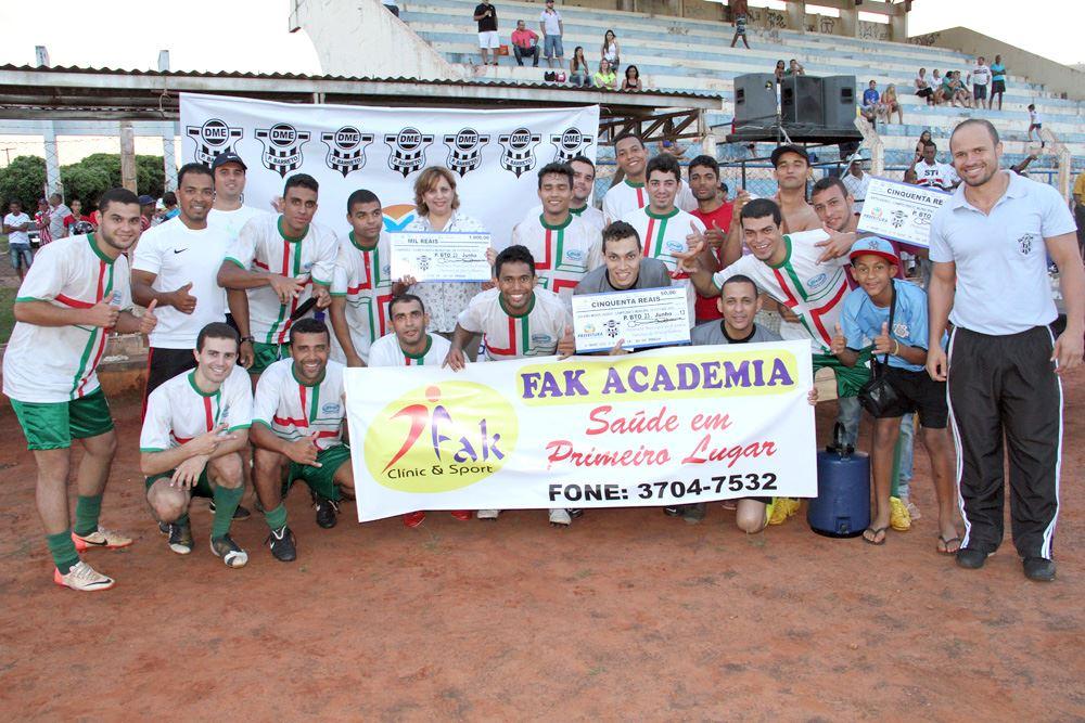 Foto: FAK Academia Campeã do Campeonato Municipal de Futebol Amador