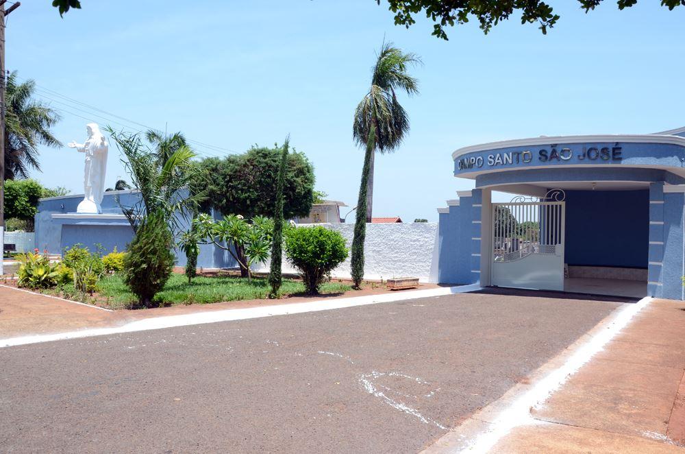Vista do Campo Santo