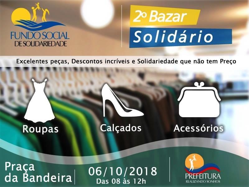 27fbae4c61cd 2º Bazar Solidário do Fundo Social será realizado neste sábado em Pereira  Barreto - Prefeitura Municipal da Estância Turística de Pereira Barreto