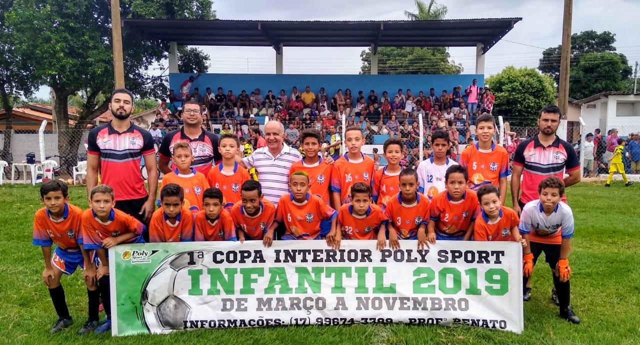 Equipes Sub-13 e Sub-11 de Pereira Barreto vencem pelas quartas-de-final da Copa Poly Sport de Futebol Infantil - Assessoria de Comunicação da Prefeitura de Pereira Barreto